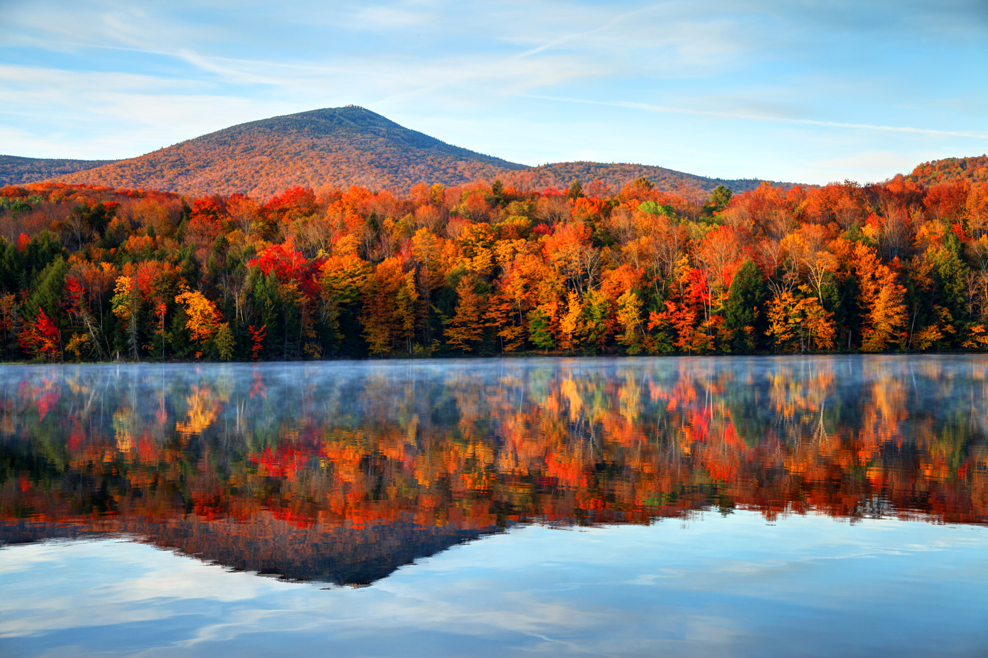 Colorful New England