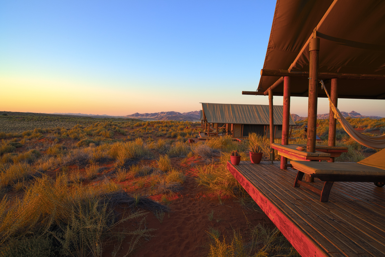 The Wolwedans Dune Camp in Namibia