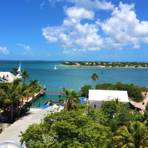 Aerial view Key West